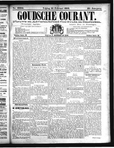 Goudsche Courant 1913-02-21