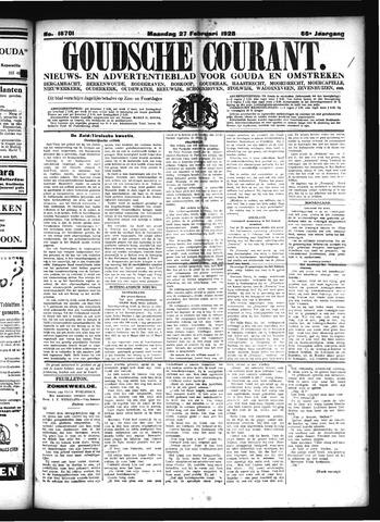 Goudsche Courant 1928-02-27