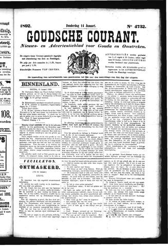 Goudsche Courant 1892-01-14