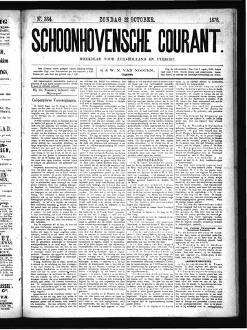 Schoonhovensche Courant 1876-10-22