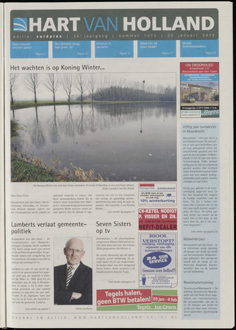Hart van Holland - Editie Zuidplas 2012-01-25