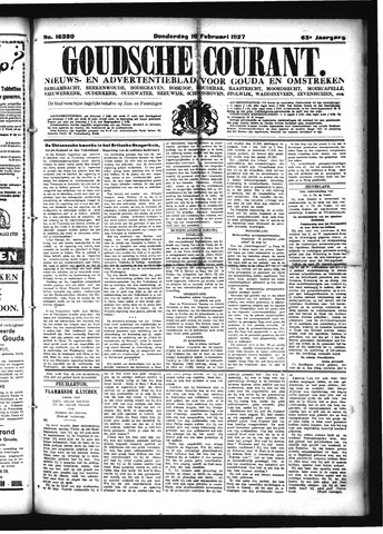 Goudsche Courant 1927-02-10