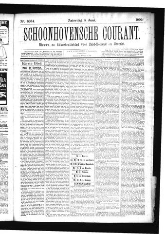 Schoonhovensche Courant 1909-06-05