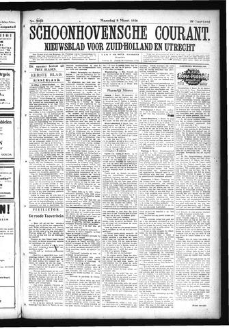 Schoonhovensche Courant 1926-03-06