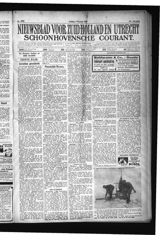 Schoonhovensche Courant 1929-02-01