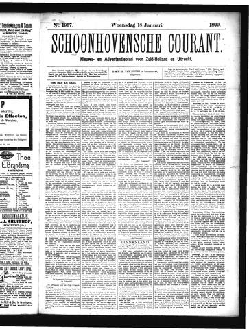 Schoonhovensche Courant 1899-01-18