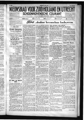 Schoonhovensche Courant 1931-05-20