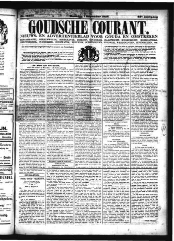Goudsche Courant 1926-11-01