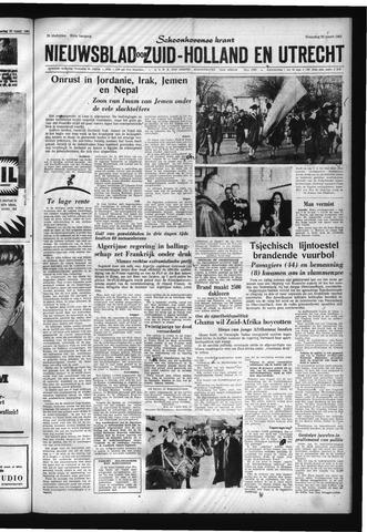 Schoonhovensche Courant 1961-03-29