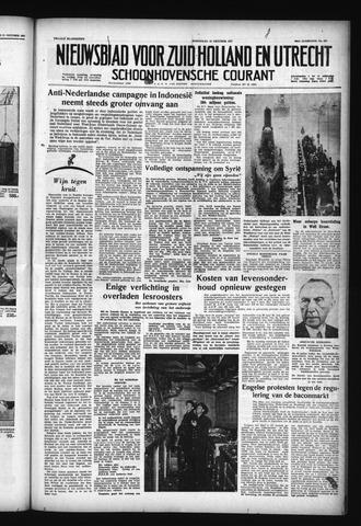 Schoonhovensche Courant 1957-10-23