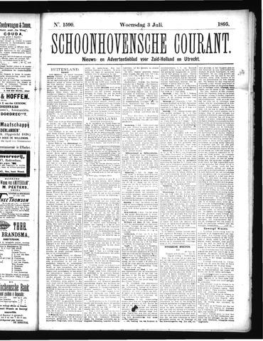 Schoonhovensche Courant 1895-07-03