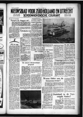 Schoonhovensche Courant 1953-11-06