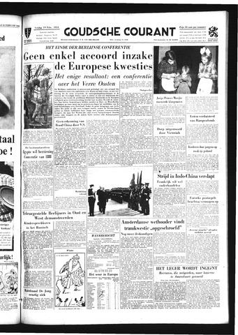 Goudsche Courant 1954-02-19