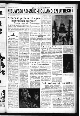 Schoonhovensche Courant 1962-01-19