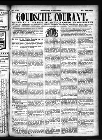 Goudsche Courant 1923-04-05