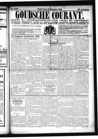 Goudsche Courant 1929-08-22