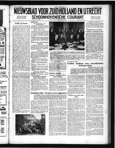 Schoonhovensche Courant 1950-08-18