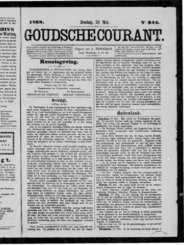Goudsche Courant 1868-05-31