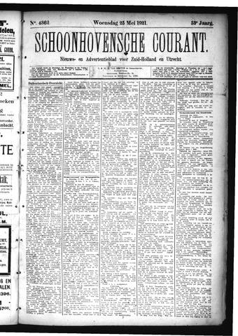 Schoonhovensche Courant 1921-05-25