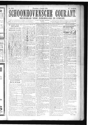 Schoonhovensche Courant 1925-01-05