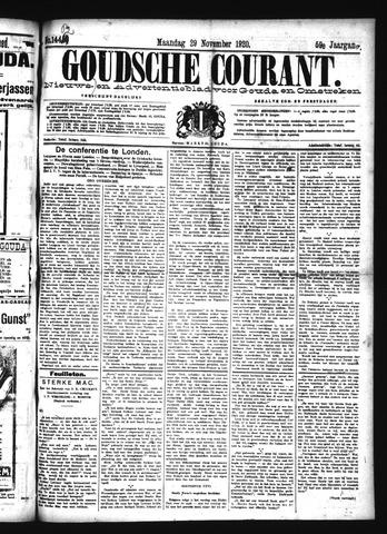Goudsche Courant 1920-11-29
