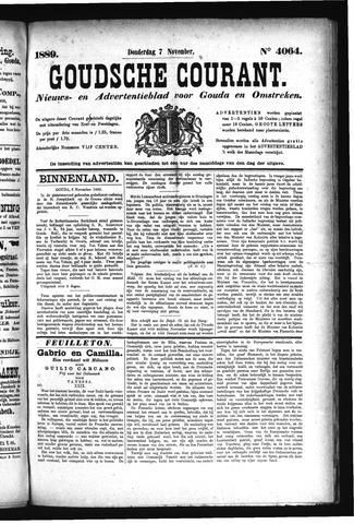 Goudsche Courant 1889-11-07