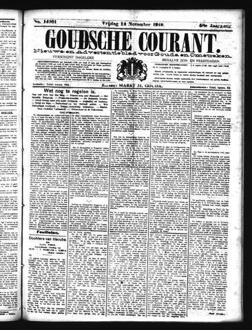 Goudsche Courant 1919-11-14