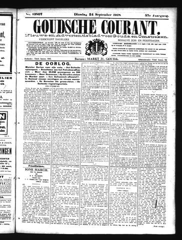 Goudsche Courant 1918-09-24