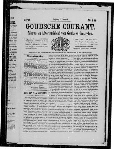 Goudsche Courant 1870-01-07