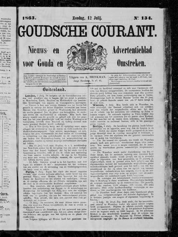Goudsche Courant 1863-07-12