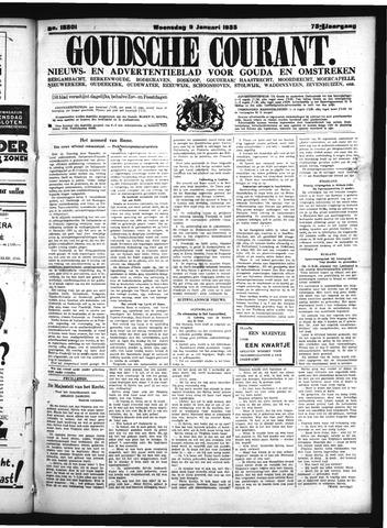 Goudsche Courant 1935-01-09