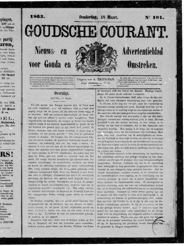 Goudsche Courant 1863-03-19