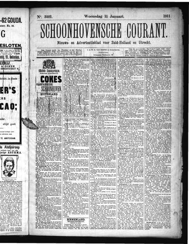 Schoonhovensche Courant 1911-01-11