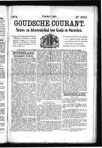 Goudsche Courant 1874-04-08