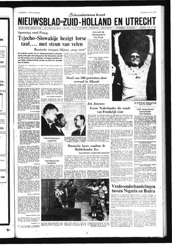 Schoonhovensche Courant 1968-07-22