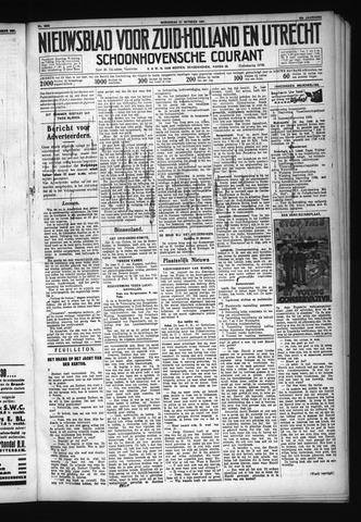 Schoonhovensche Courant 1931-10-21