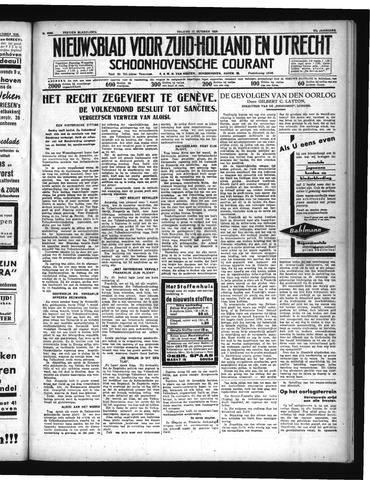 Schoonhovensche Courant 1935-10-11
