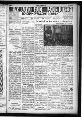 Schoonhovensche Courant 1931-11-09
