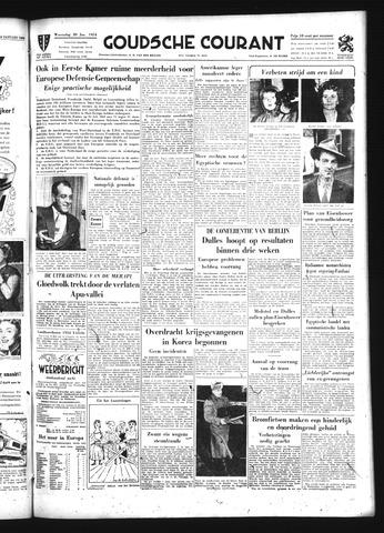 Goudsche Courant 1954-01-20