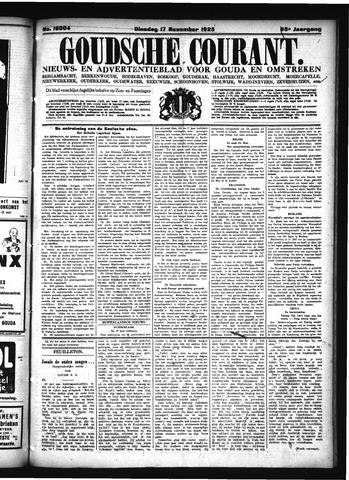 Goudsche Courant 1925-11-17