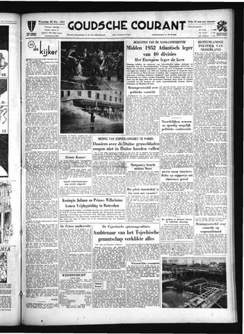 Goudsche Courant 1951-11-28