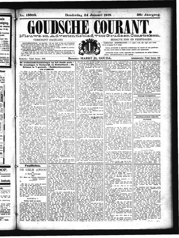 Goudsche Courant 1918-01-24