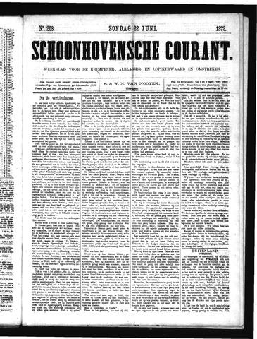 Schoonhovensche Courant 1873-06-22