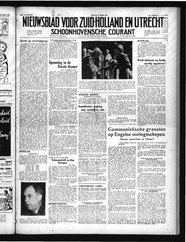 Schoonhovensche Courant 1949-04-22