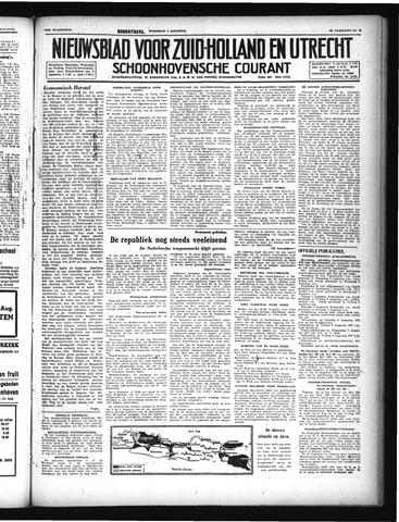Schoonhovensche Courant 1947-08-06