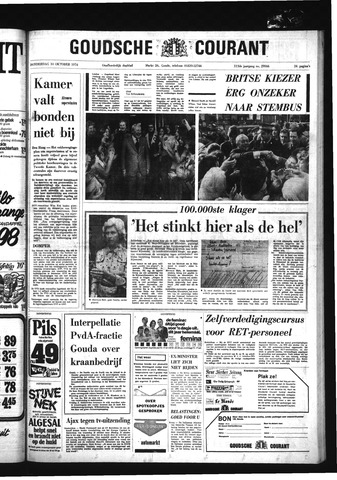 Goudsche Courant 1974-10-10