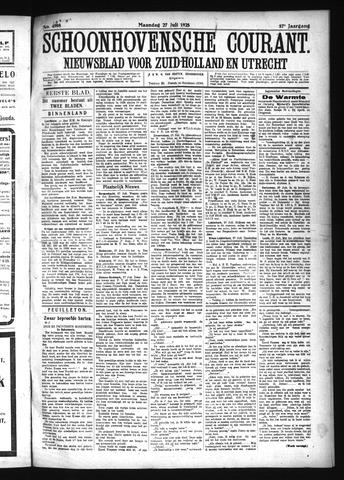 Schoonhovensche Courant 1925-07-27