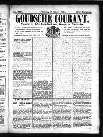 Goudsche Courant 1894-10-10