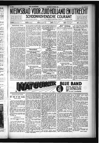 Schoonhovensche Courant 1932-10-10