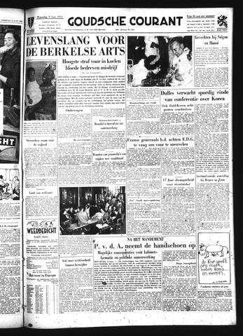 Goudsche Courant 1954-06-09